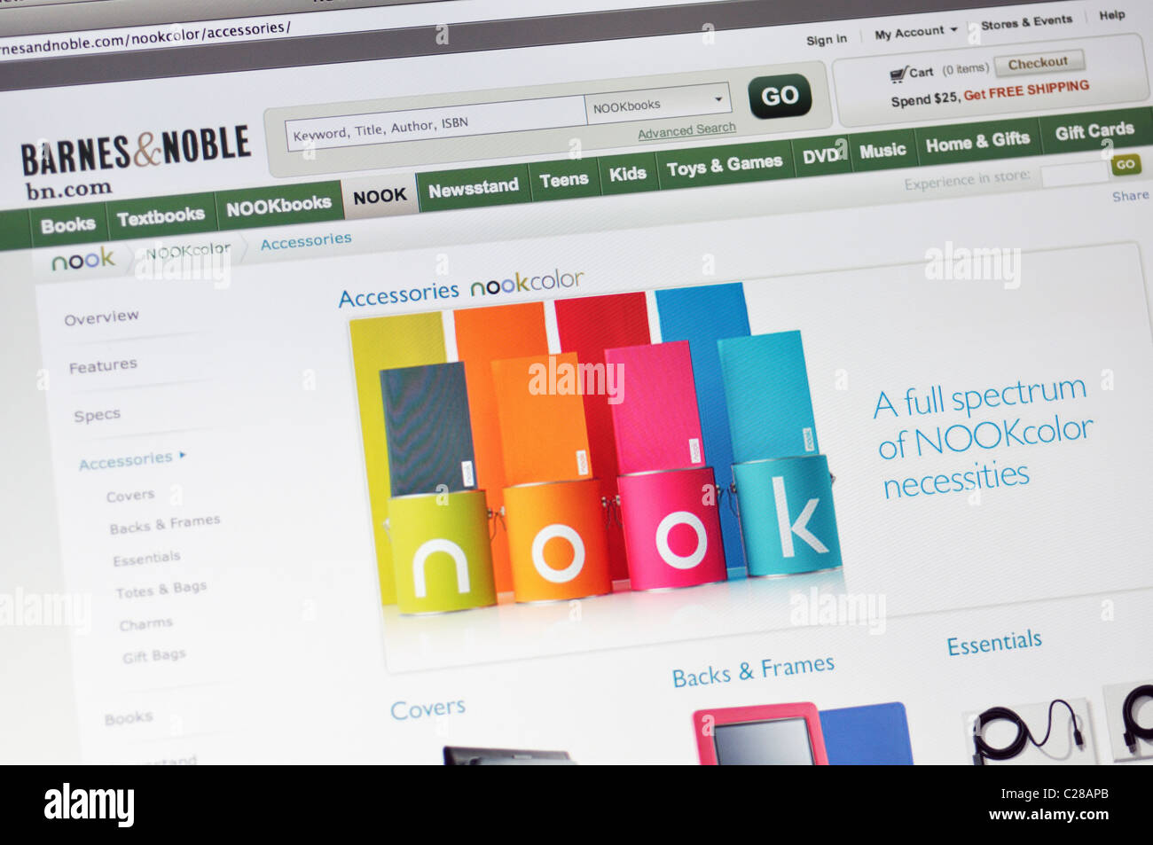 barnes noble bookstore website nook electronic book readers