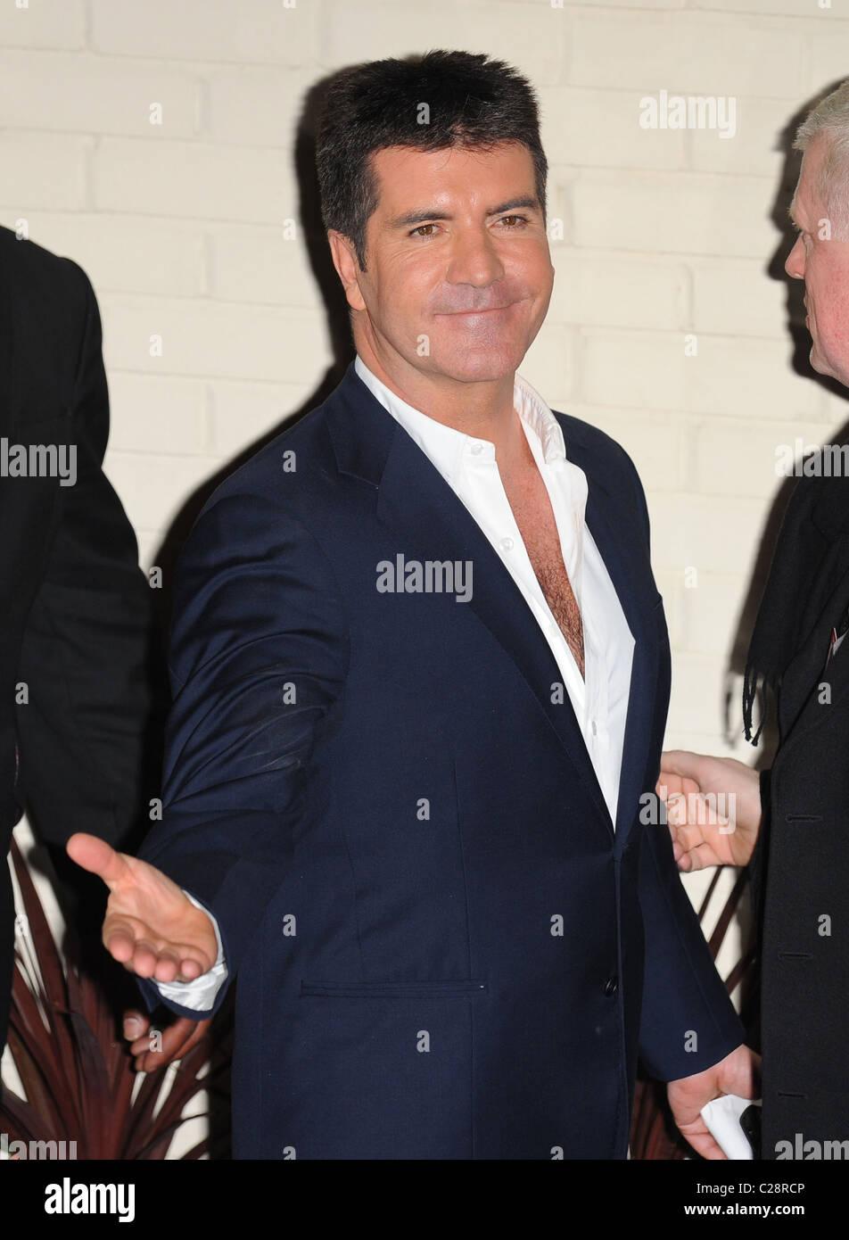 Simon cowell hairy chest