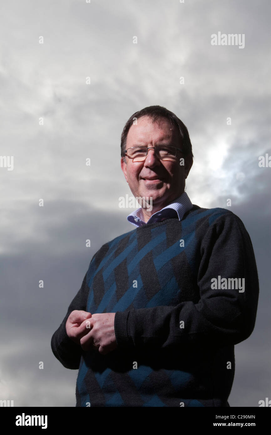 Rev. David Arnott, Moderator designate for the 2011 General Assembly of the Church of Scotland. - Stock Image