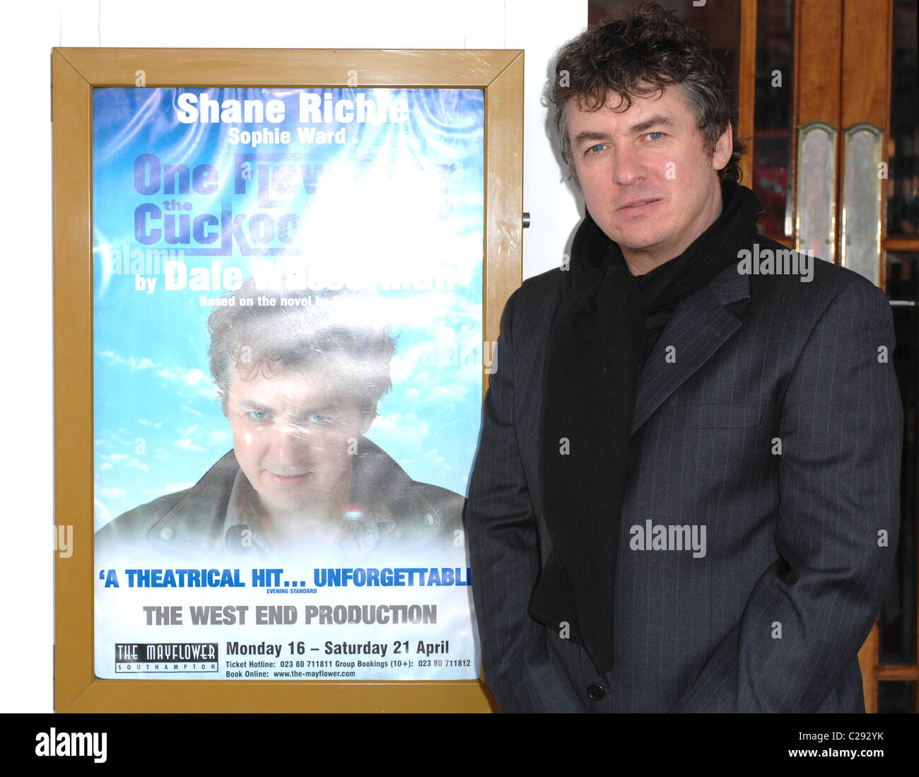 Shane Richie  - One Flew Over The Cuckoo's Nest - photocall  Southampton, England - 18.01.07 Rob Cable - Stock Image