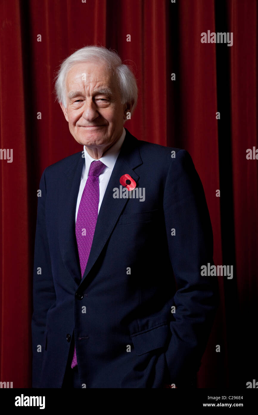 Lord (David) Wilson of Tillyorn, President of the Royal Society of Edinburgh and former Governor of Hong Kong. - Stock Image