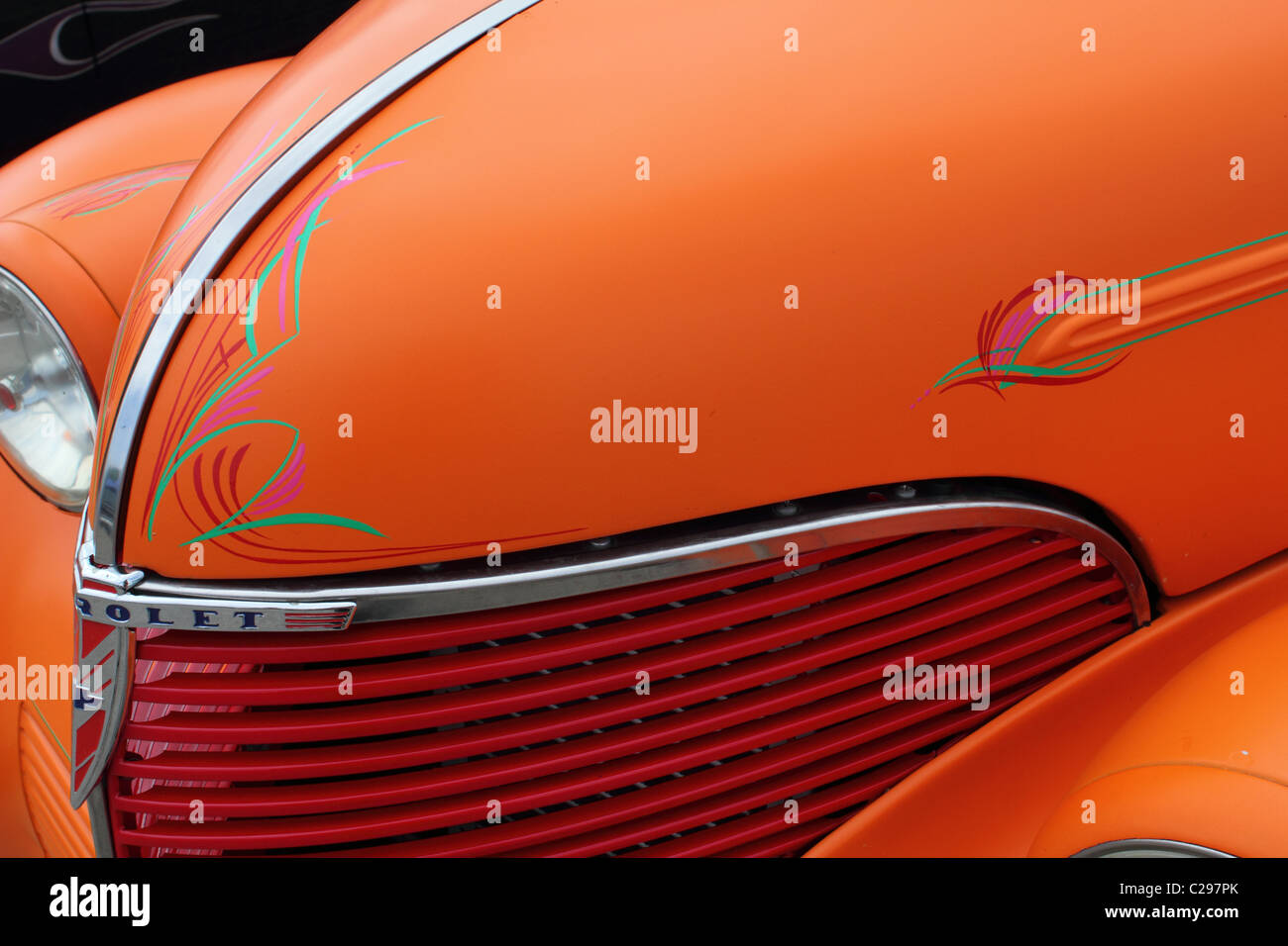 Pinstriping High Resolution Stock Photography And Images Alamy
