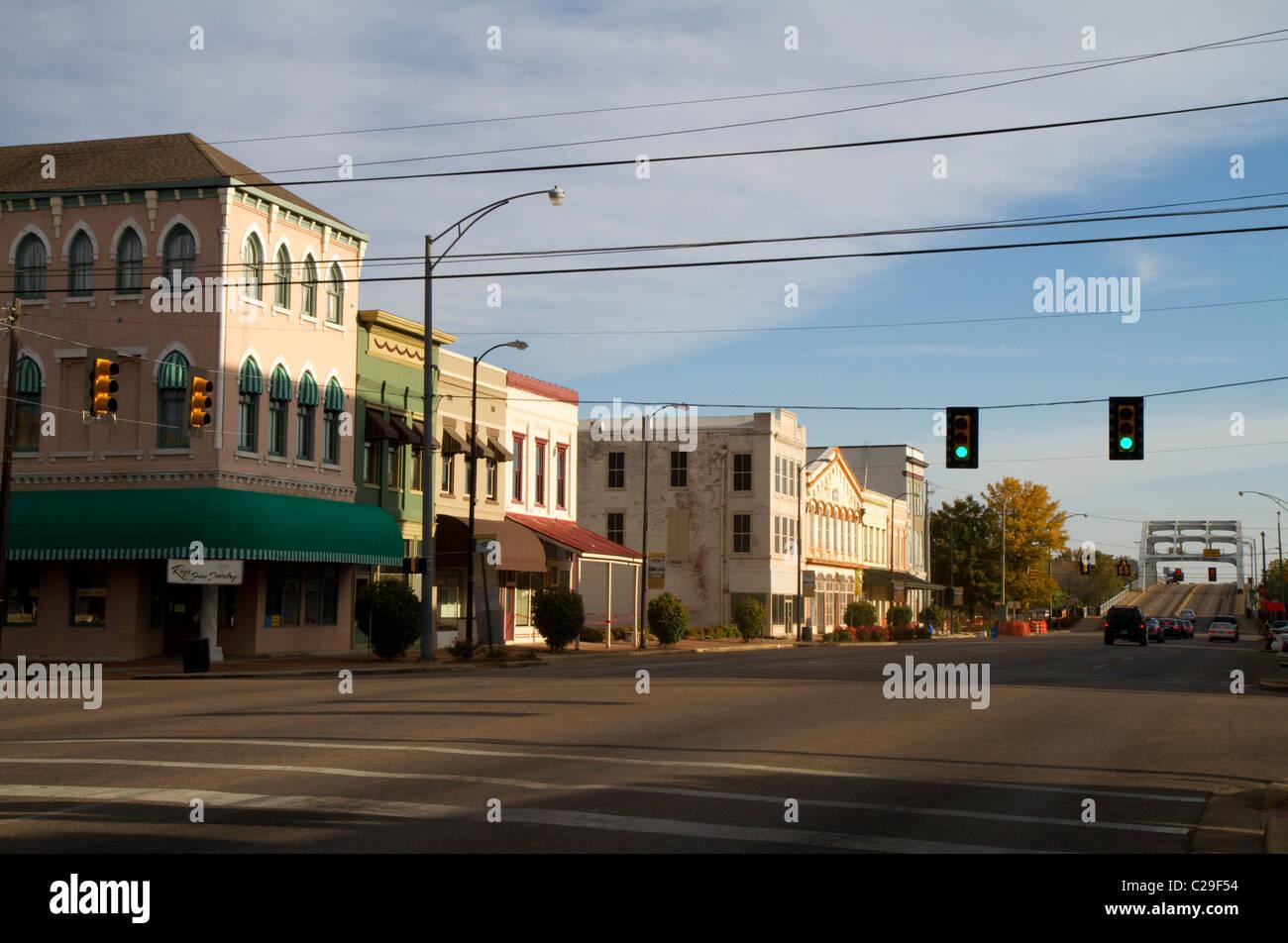 Downtown Selma, Alabama, USA. - Stock Image