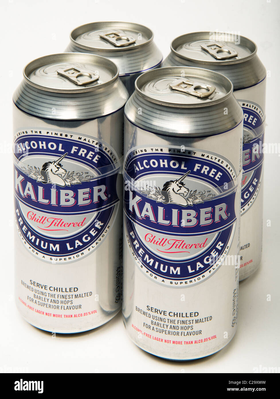 Kaliber alcohol free larger 0% - Stock Image