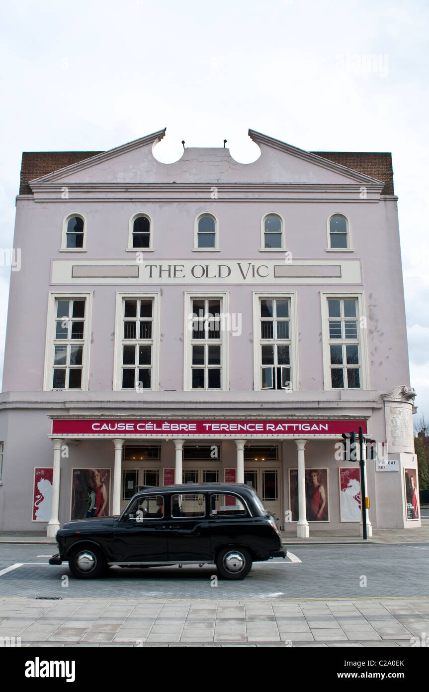 Old Vic Theatre, London, UK - Stock Image
