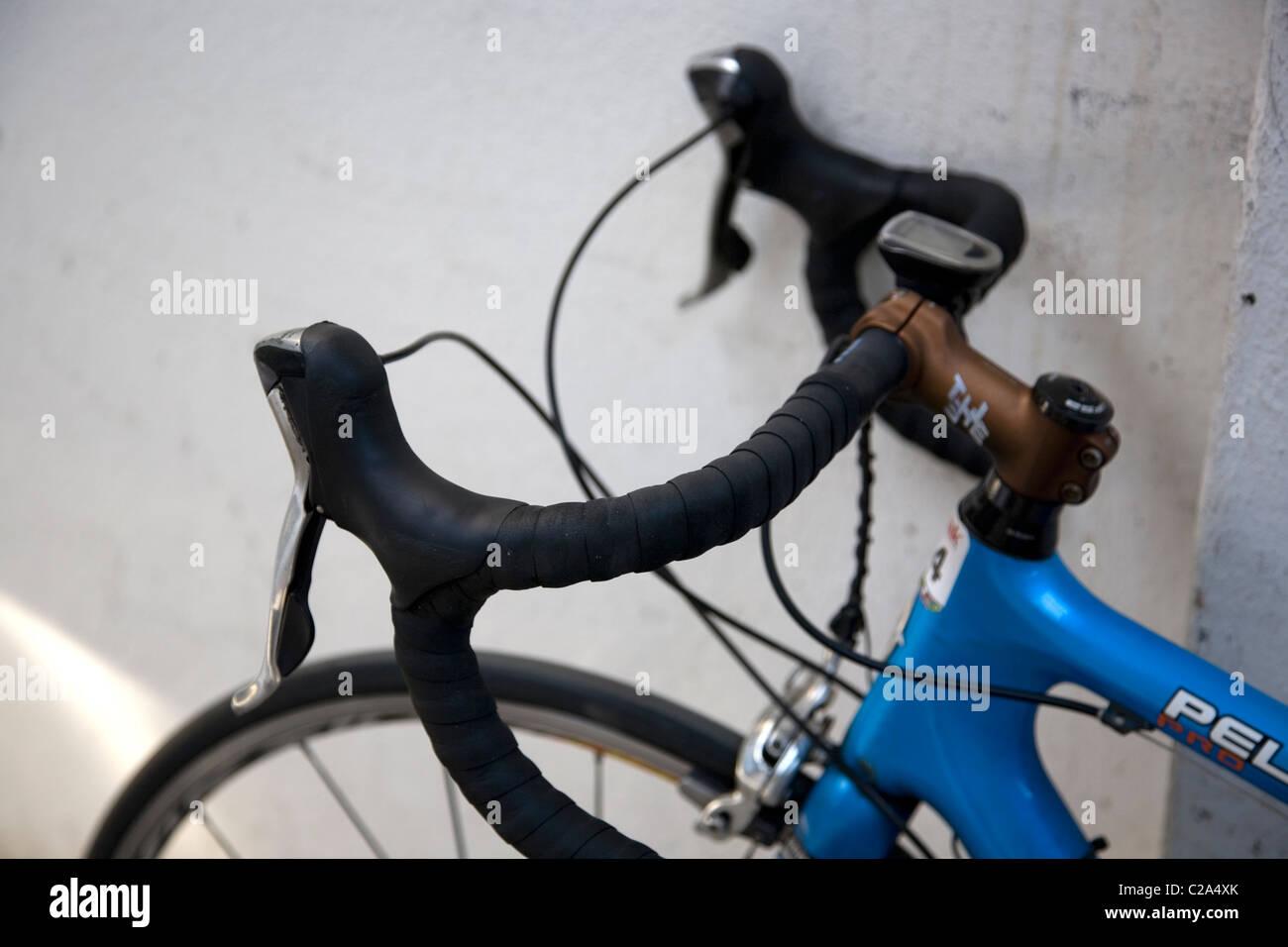 Bicycle Handlebars - Stock Image