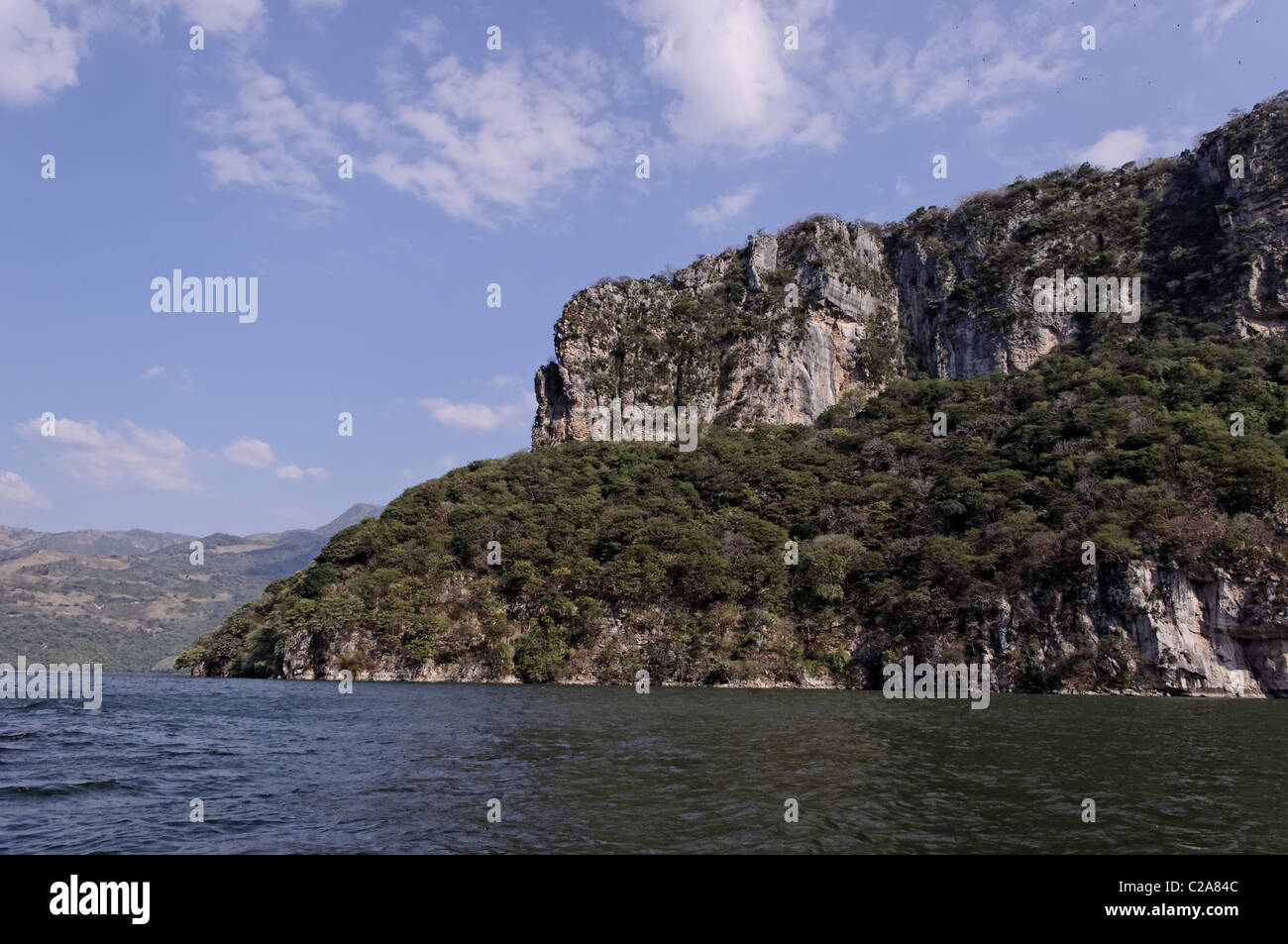 Sumidero Canyon walls - Stock Image