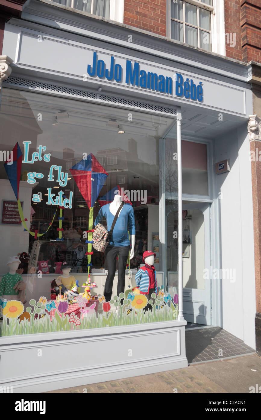 The JoJo Maman Bebe shop on Chelsea Green, Cale Street, Chelsea