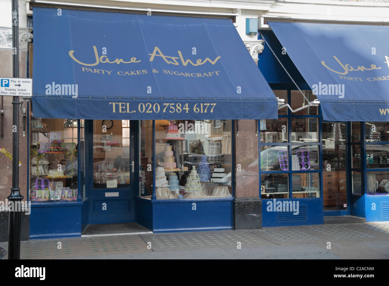 The Jane Asher Party Cakes And Sugarcraft Shop On Chelsea