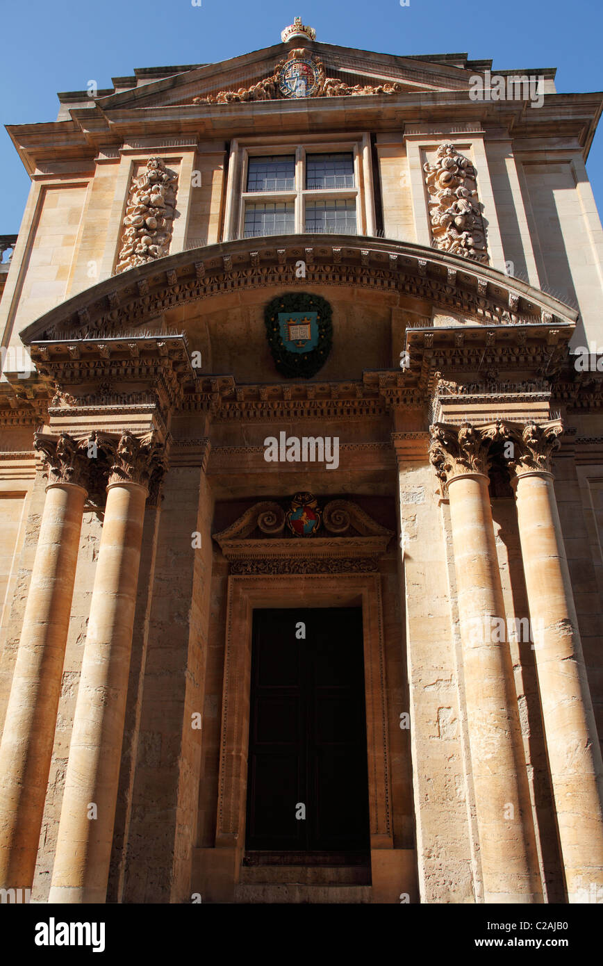 [Museum of the History of Science], Oxford, England, UK - Stock Image