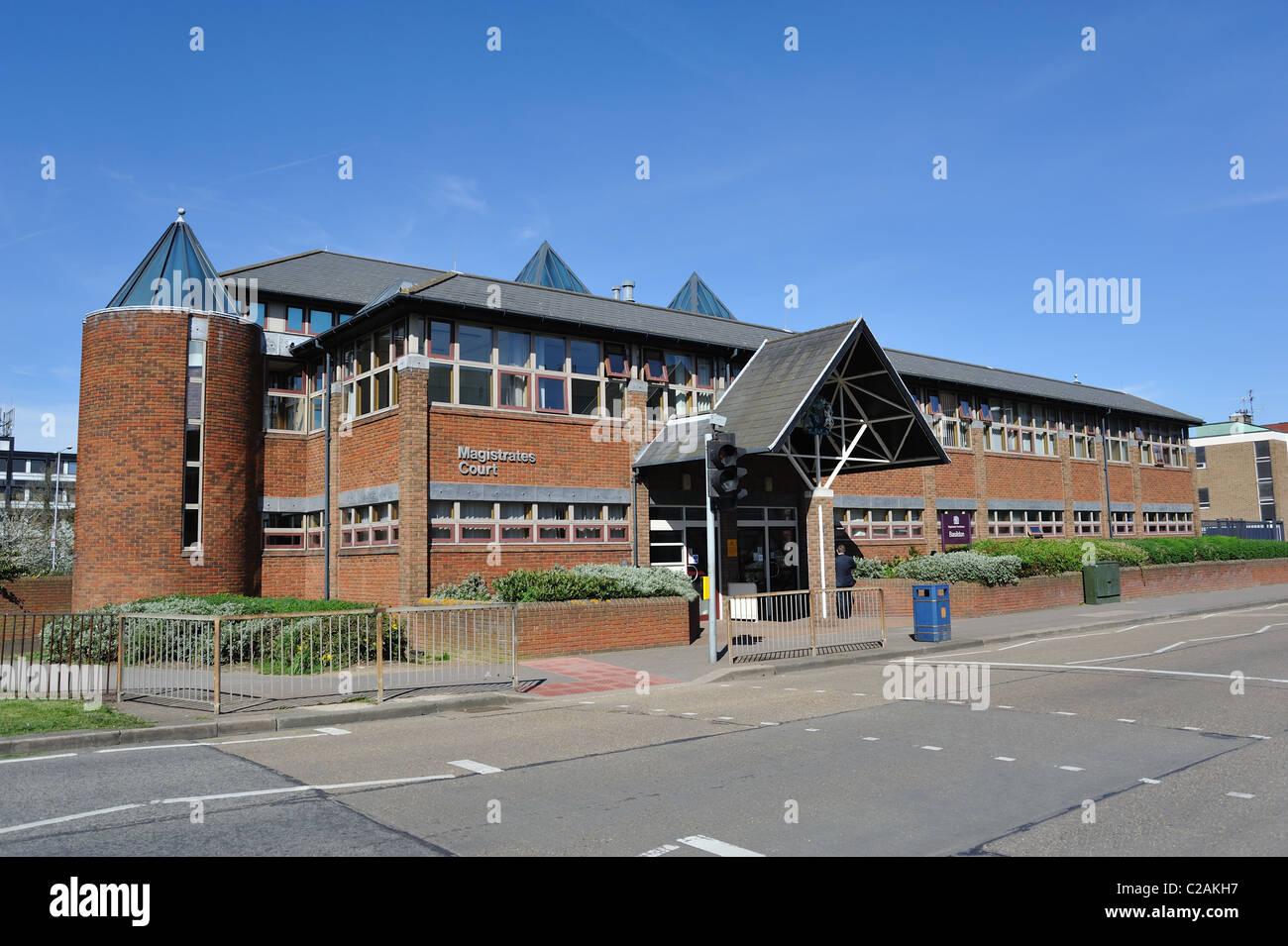 Basildon Magistrate Court House - Stock Image