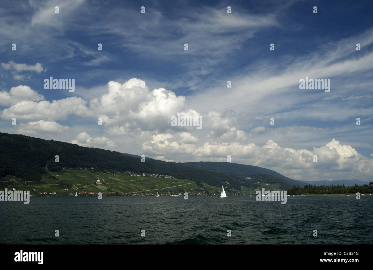 Bielersee - Stock Image