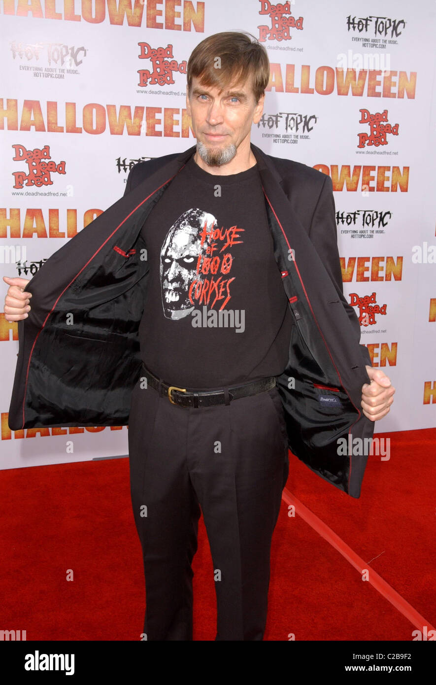 bill moseley halloween premiere held at manns chinese theater arrivals hollywood california