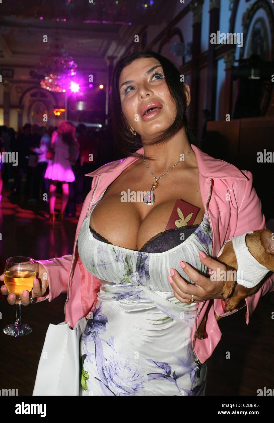 biggest fake boobs