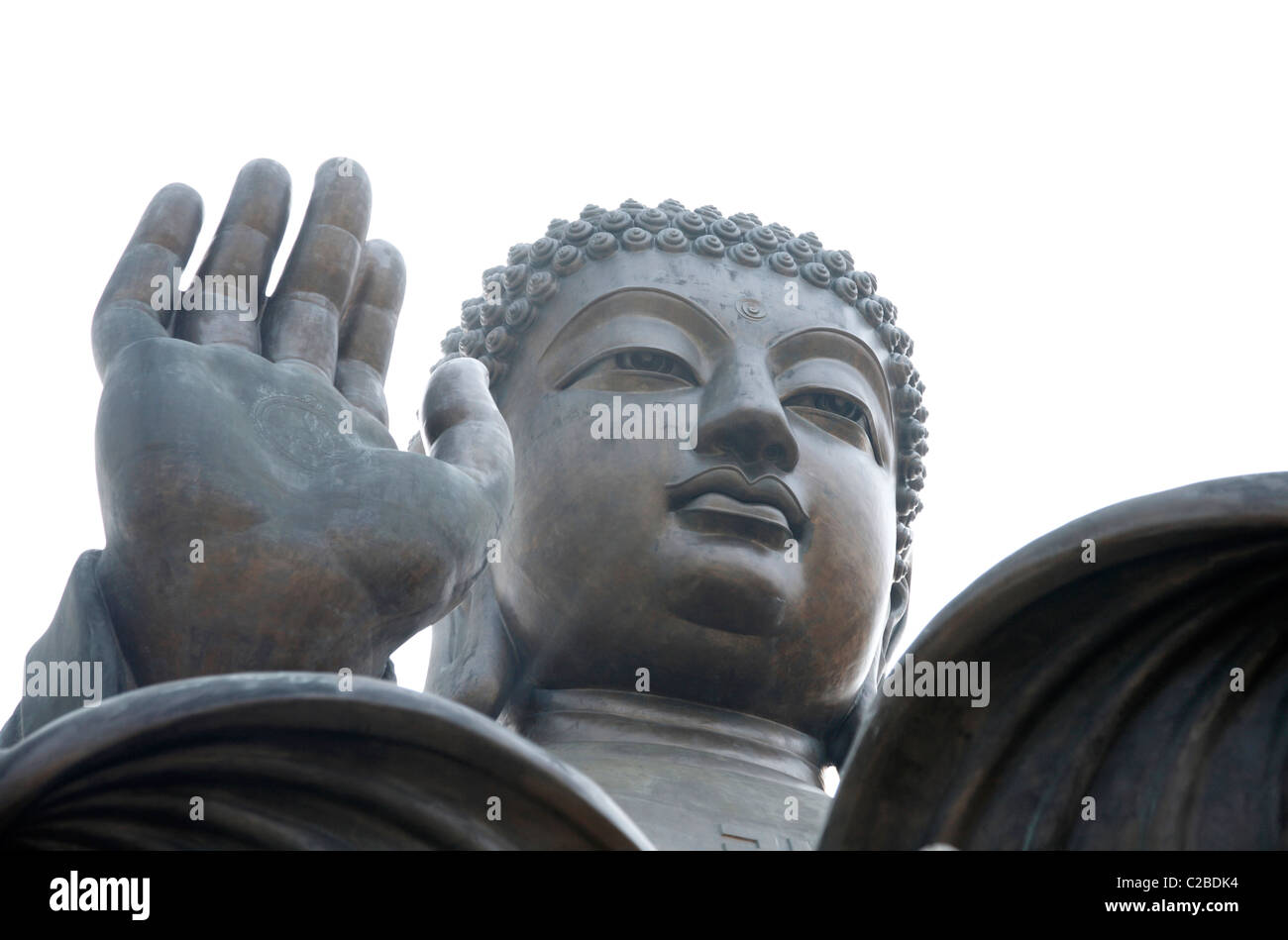 Tian Tan Buddha at Ngong Ping on Lantau Island, Hong Kong, China. - Stock Image
