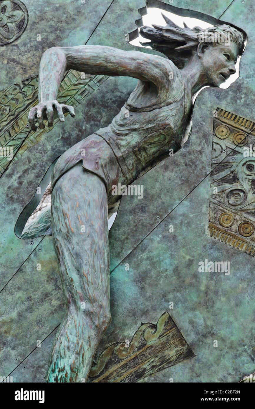 Quilt of Origins, Atlanta - Stock Image