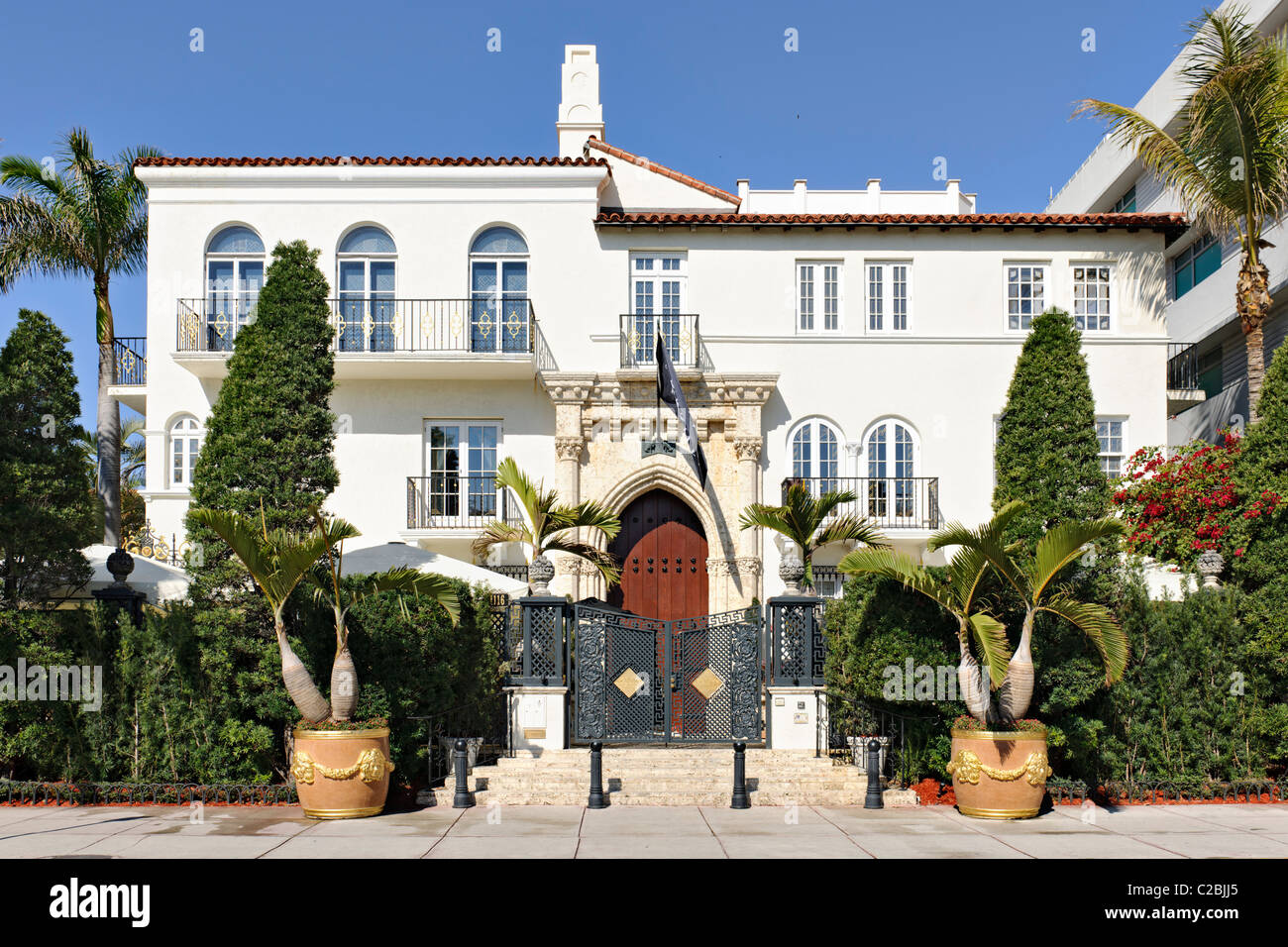 Versace Mansion Villa Barton G Weiss, South Beach, Miami - Stock Image