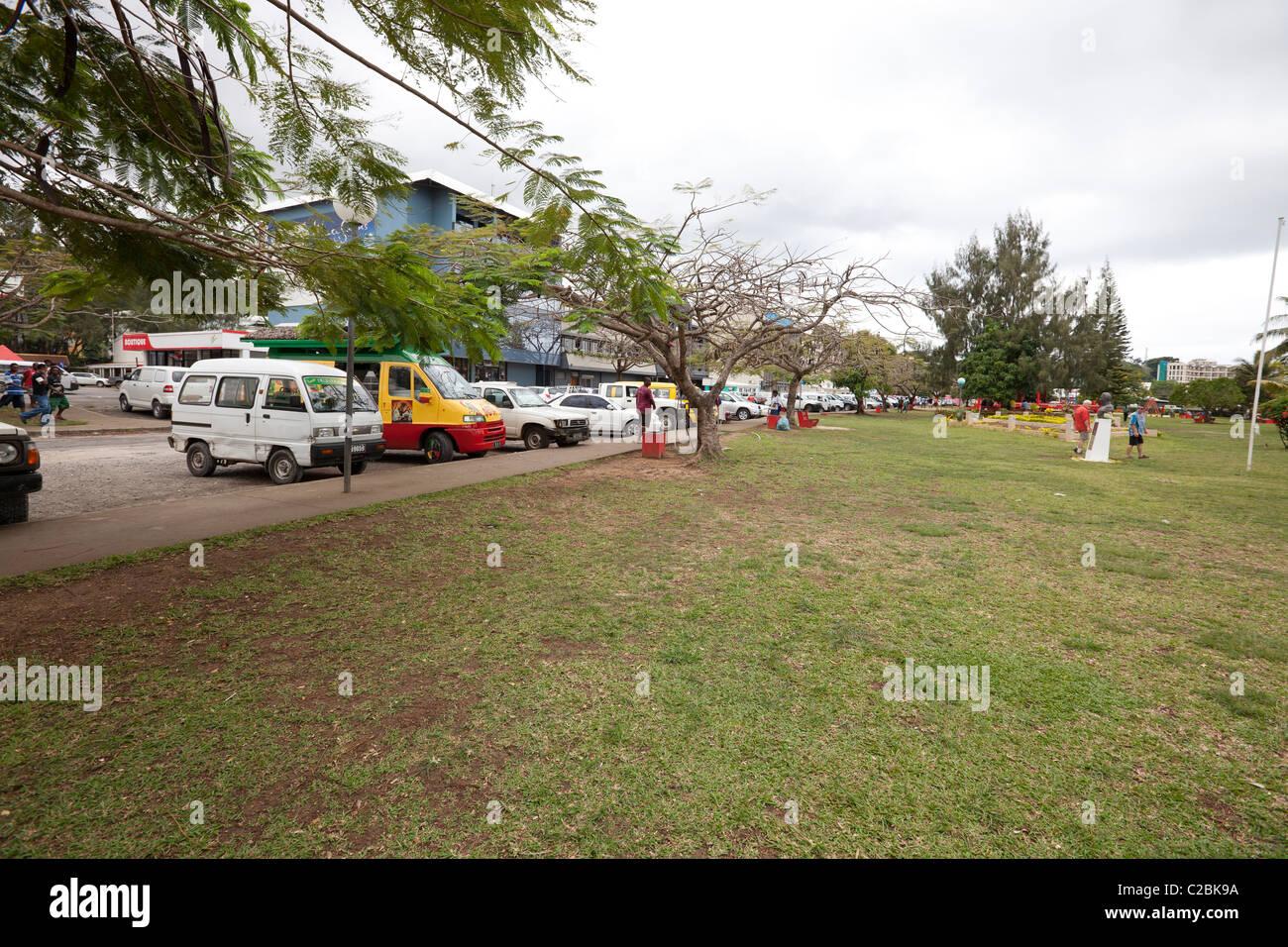 Port Vila, Vanuatu - South Pacific - Stock Image