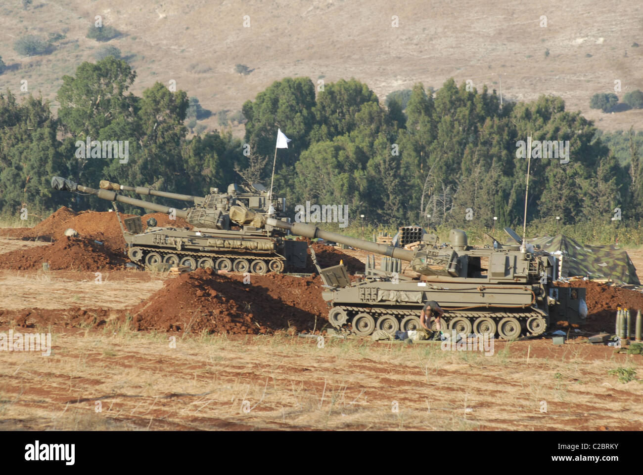 The IDF during there war with hezballah 2006 - Stock Image