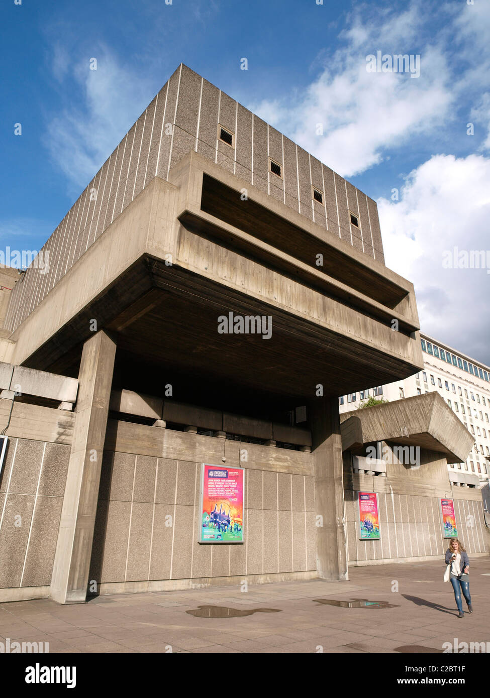 Hayward Gallery, The Southbank Lambeth London United Kingdom Great Britain - Stock Image