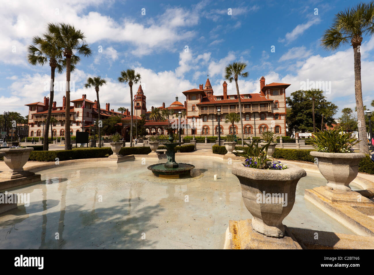 Flagler College, St Augustine, Florida. It is a private four-year liberal arts college - Stock Image