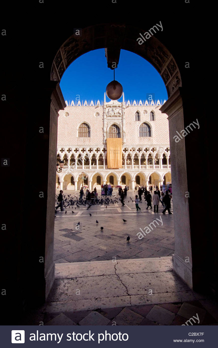 Palazzo Ducale in Venice Italy. - Stock Image