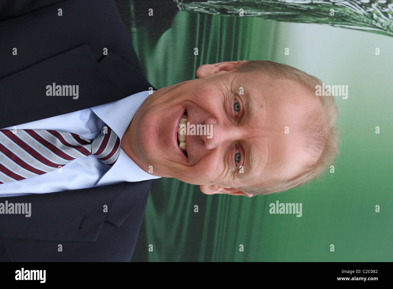 Carlsberg´s CEO Jørgen Buhl Rasmussen - Stock Image