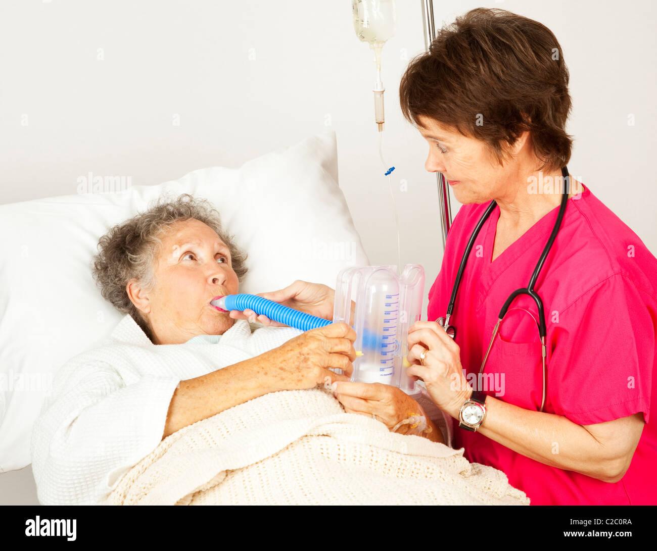 Helps patient Nurse