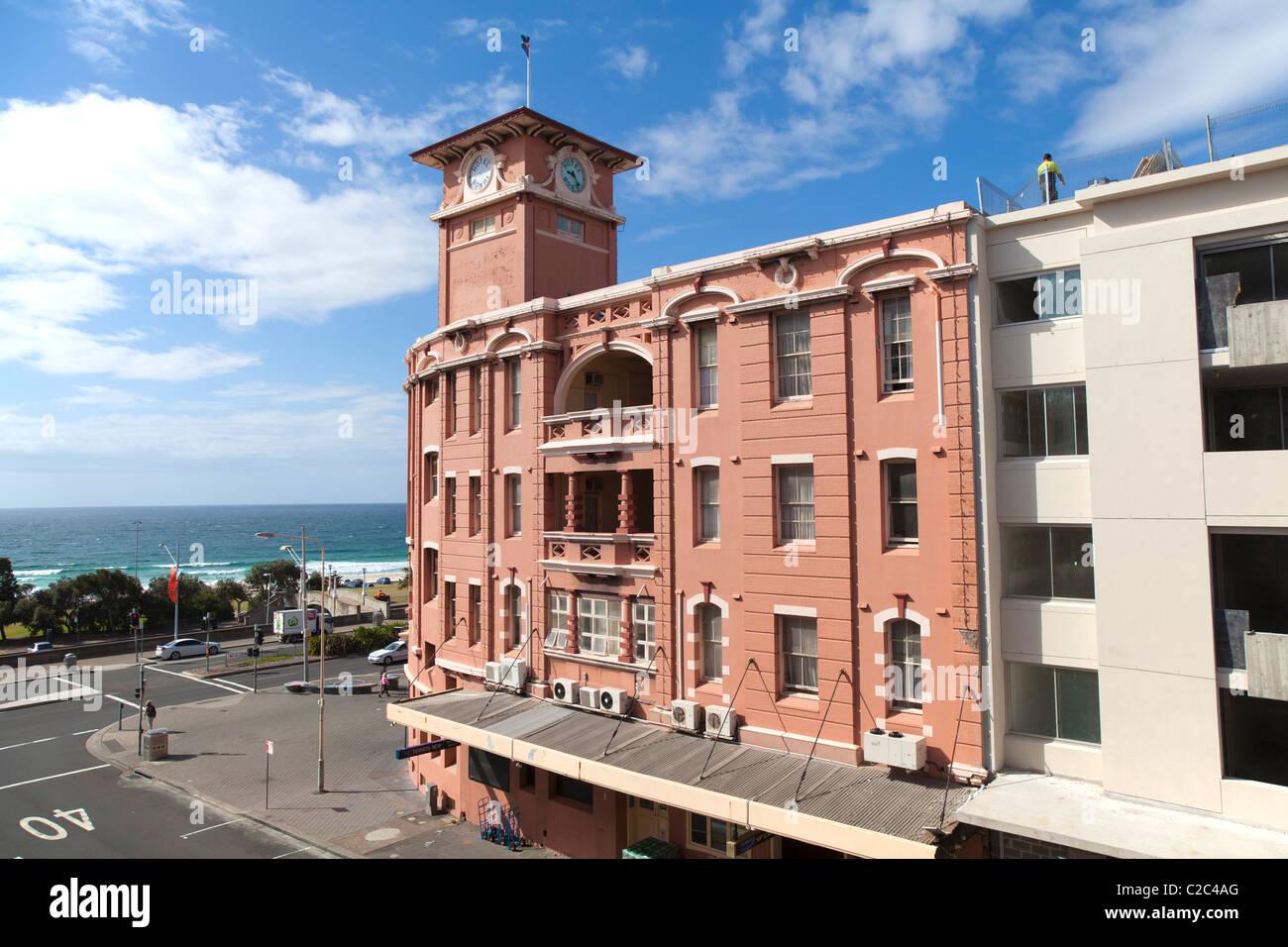 Historic Hotel Bondi, Bondi Beach, Sydney, Australia Stock ...