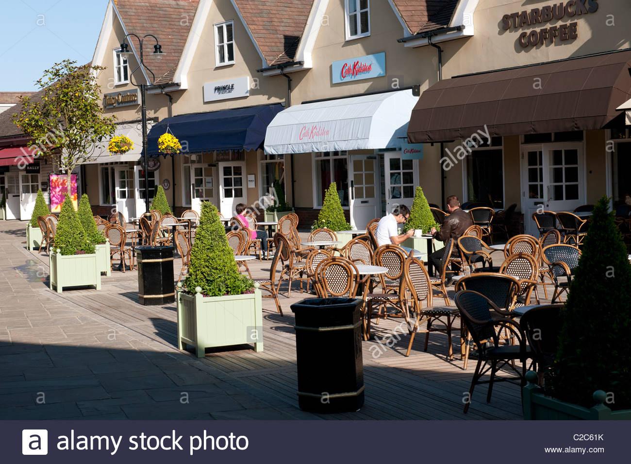 Bicester Village. Chic Designer Outlet shopping village. Oxfordshire.  England c00ccaa0c32e8