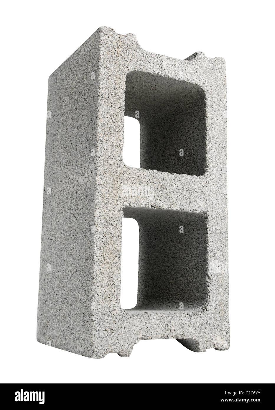 cinder blocks - Stock Image