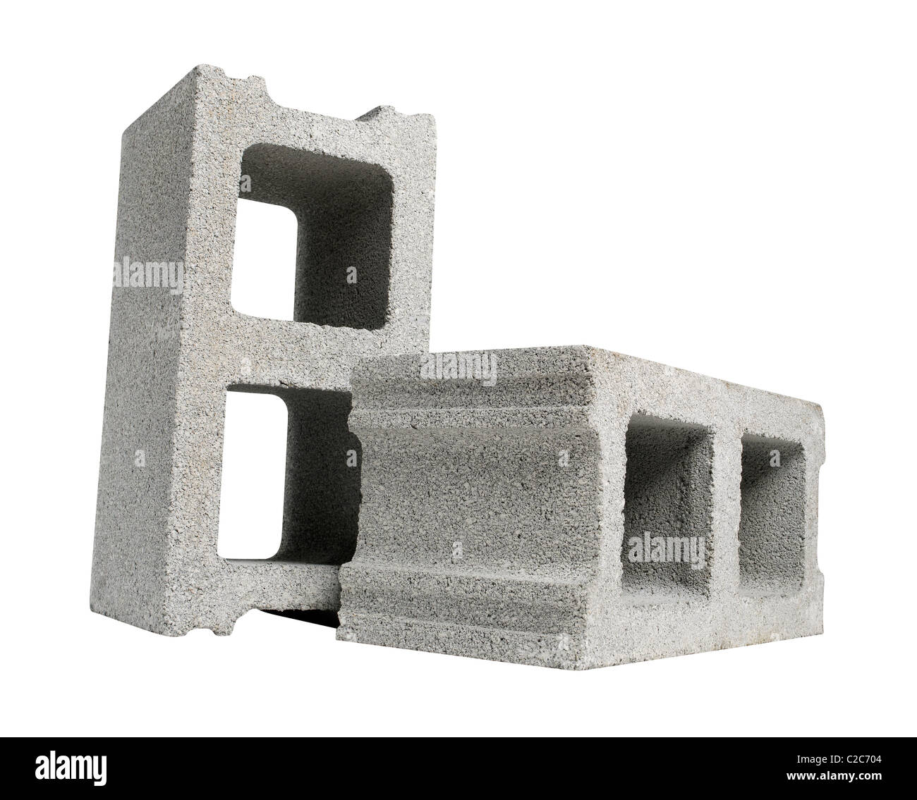 cinder blocks - Stock Image