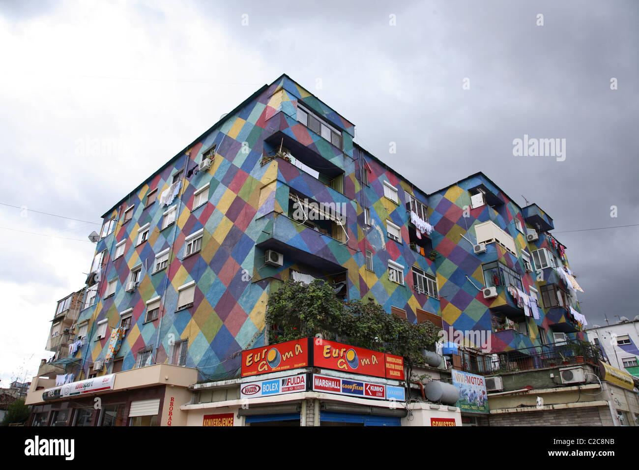 Tirana  Albania Stock Photo