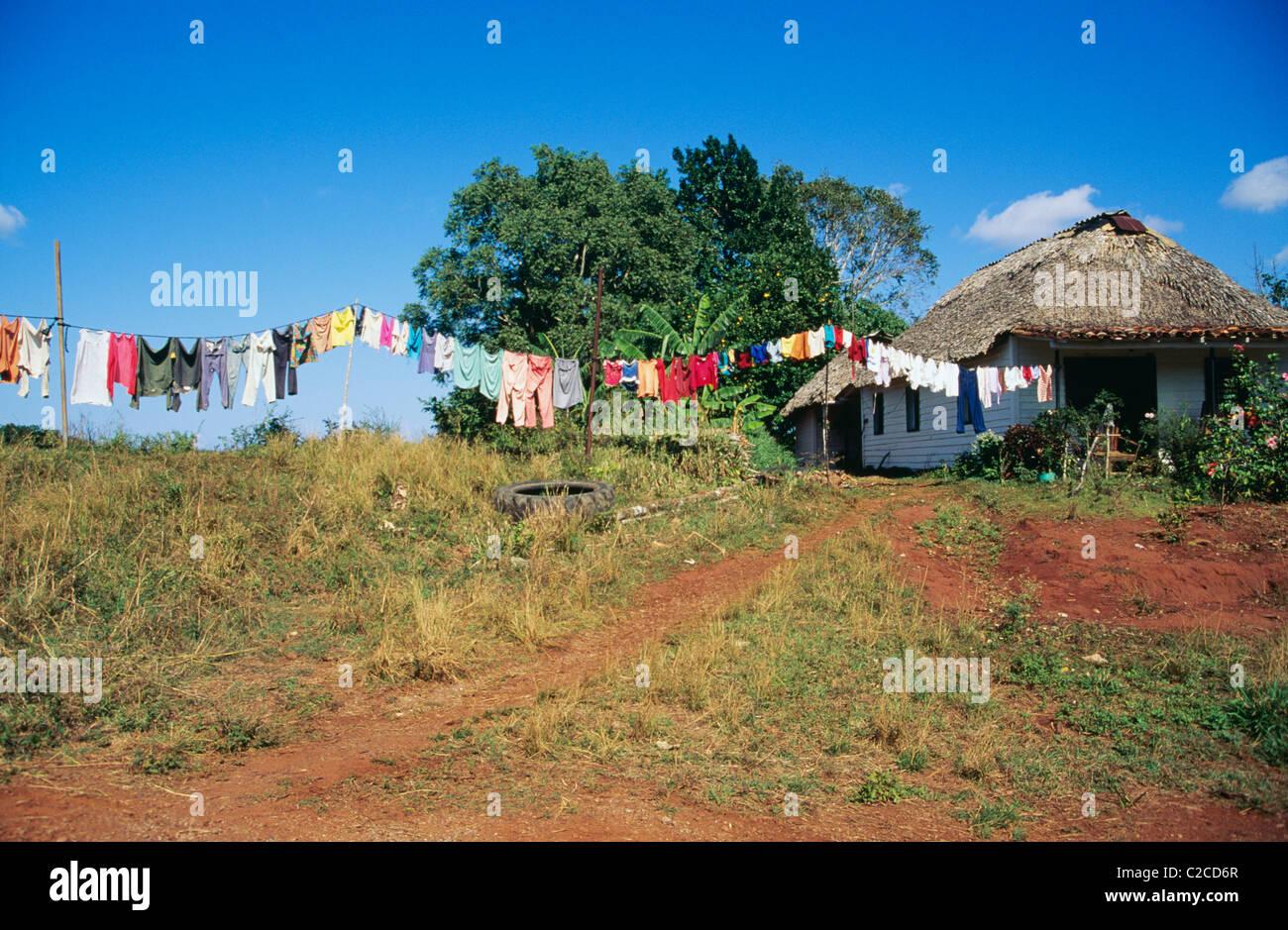 Campesino Life  Cuba - Stock Image