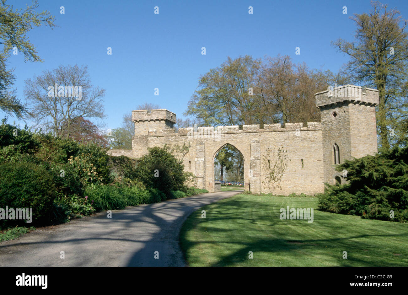 Croft Castle Herefordshire England - Stock Image