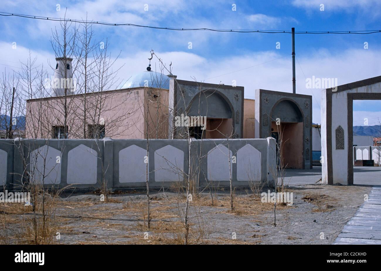Ulgii Bayan Ulgii Mongolia Stock Photo