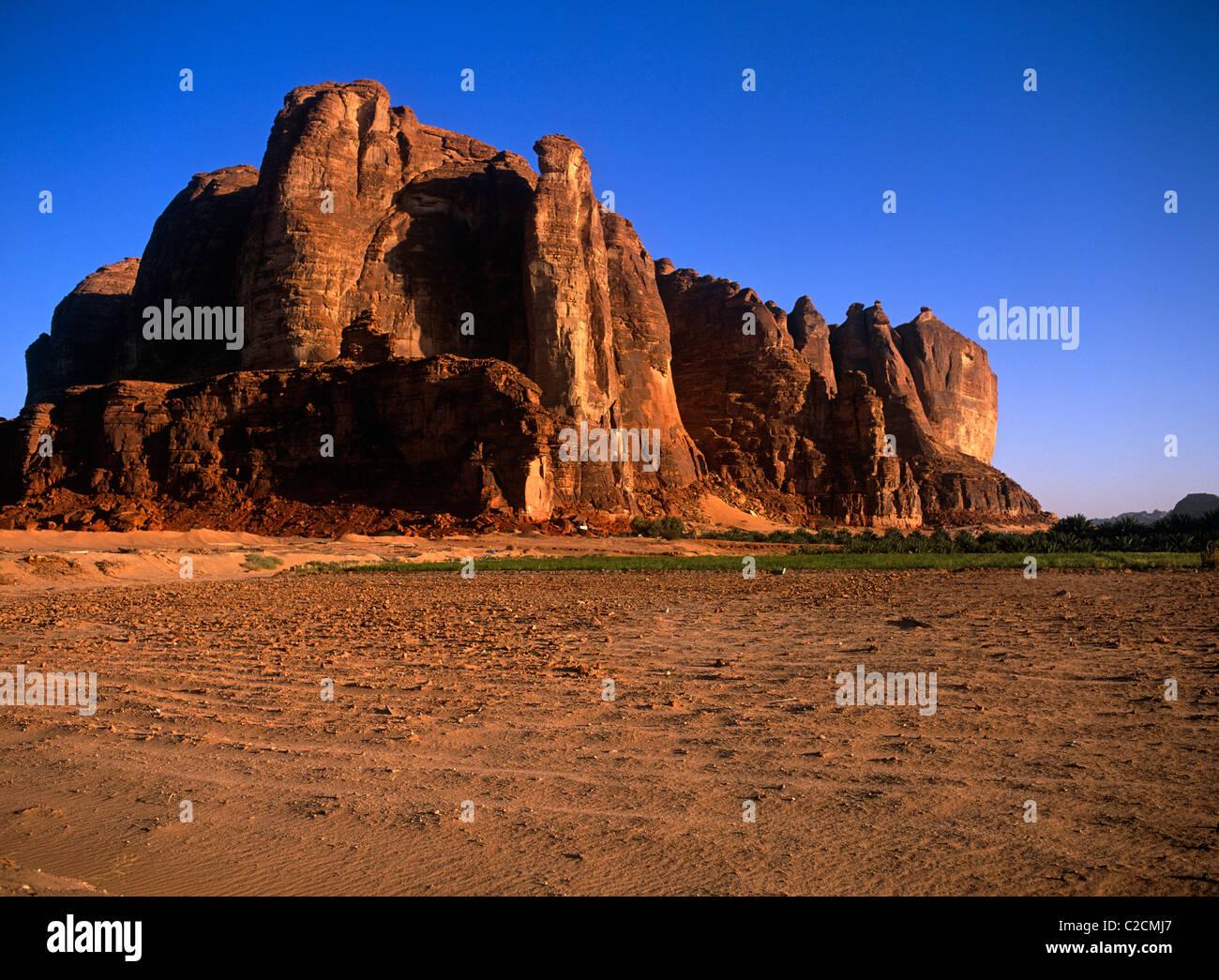 Al-Ula Oasis  Saudi Arabia - Stock Image