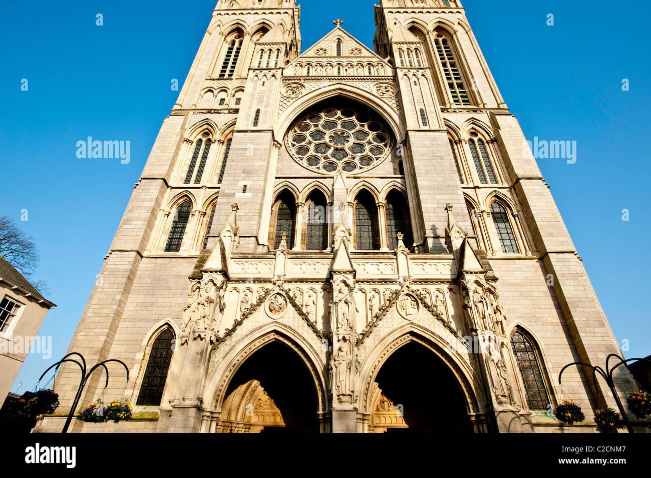 Cathedral, Truro, Cornwall, United Kingdom - Stock Image