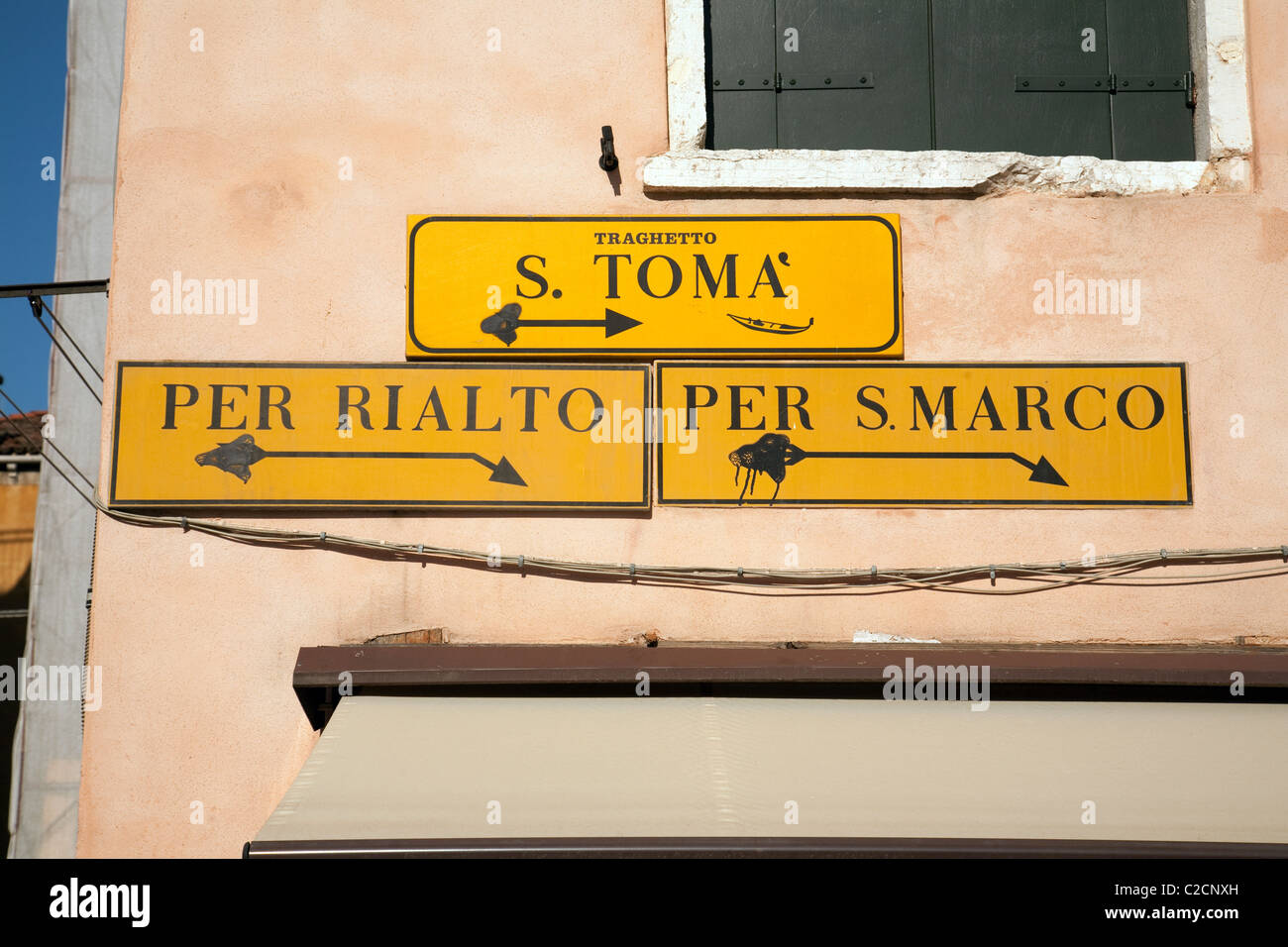 Venice Street Signs Stock Photos & Venice Street Signs Stock Images ...