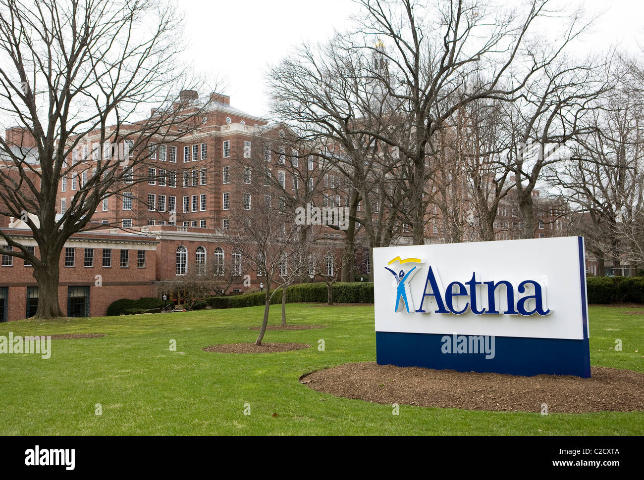 The headquarters of health insurance company Aetna.  - Stock Image
