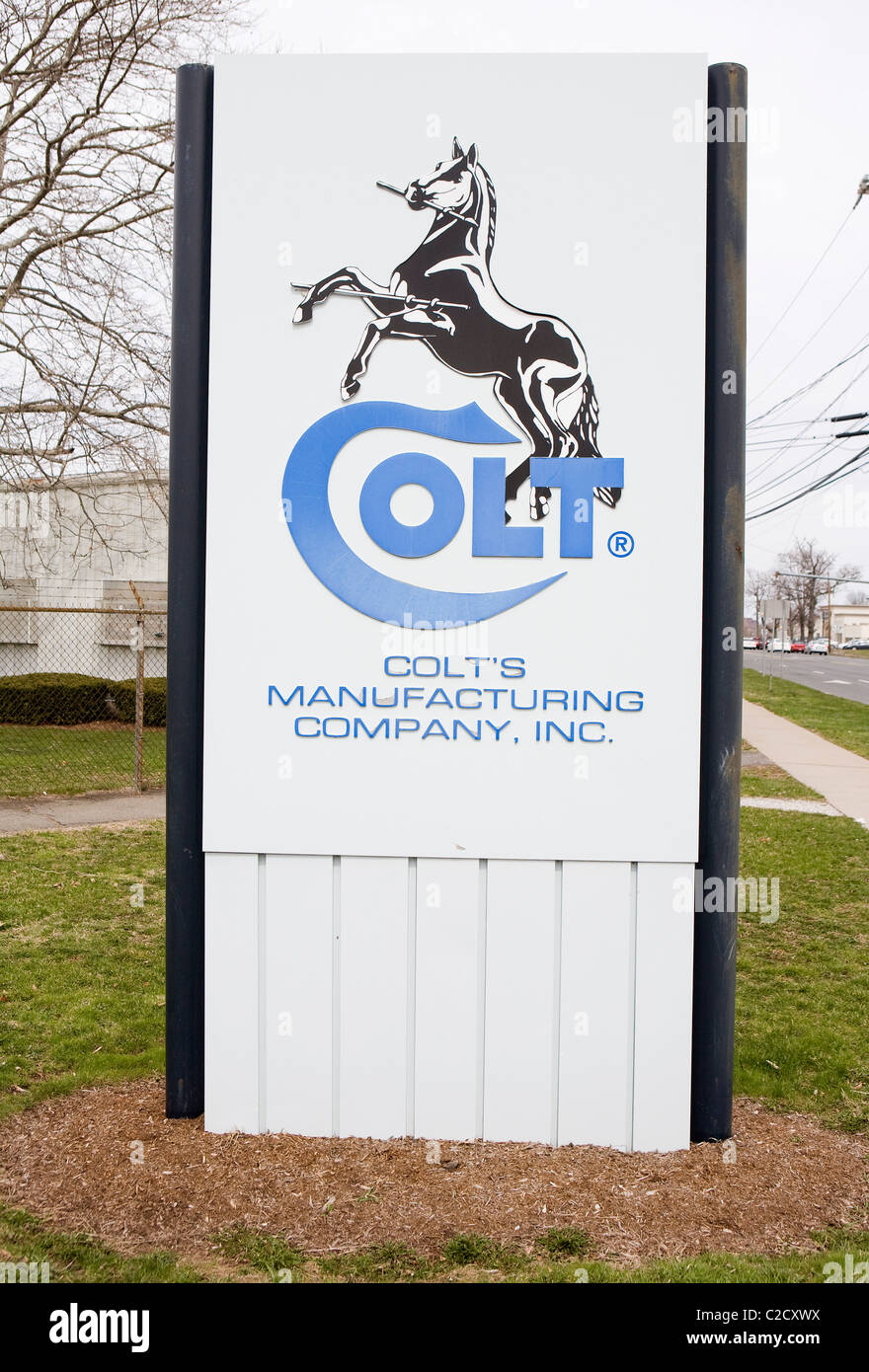 The World Headquarters of gun and firearms maker Colt.  - Stock Image