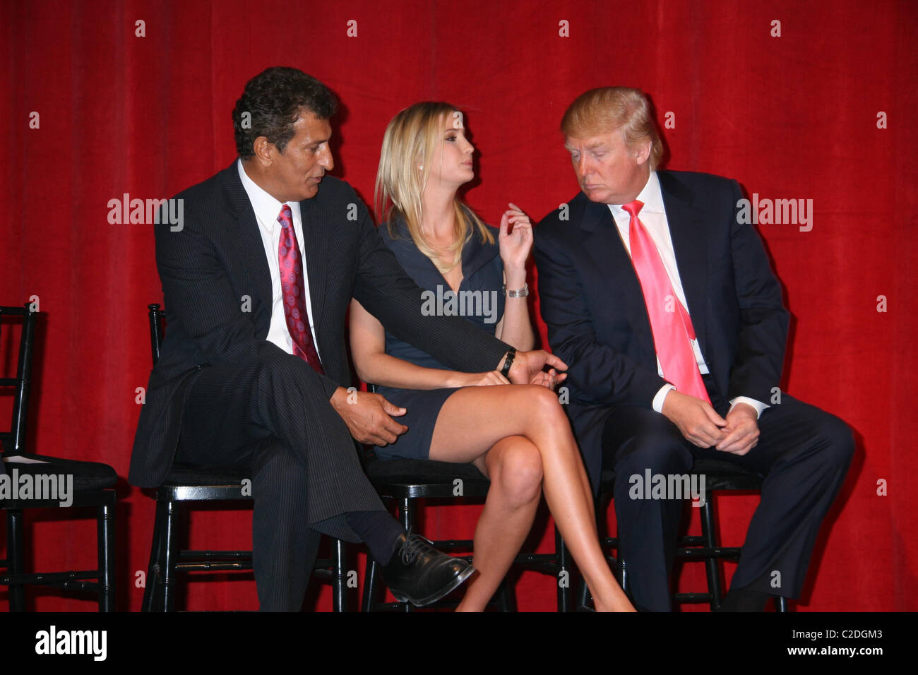 The Founder And Chairman Of Bayrock Group Tevik Arif Ivanka Trump Donald Announces Launch