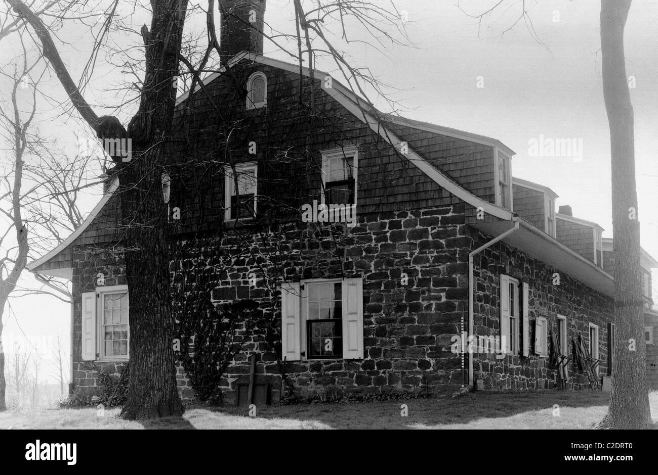 Ackerman house, Hackensack, New Jersey - Stock Image