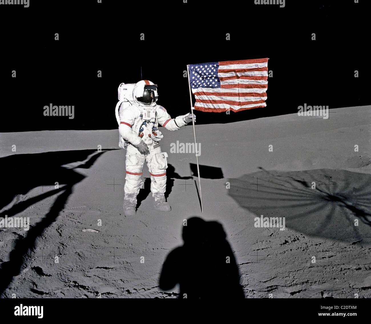 Astronaut Alan B. Shepard, Jr. - Stock Image