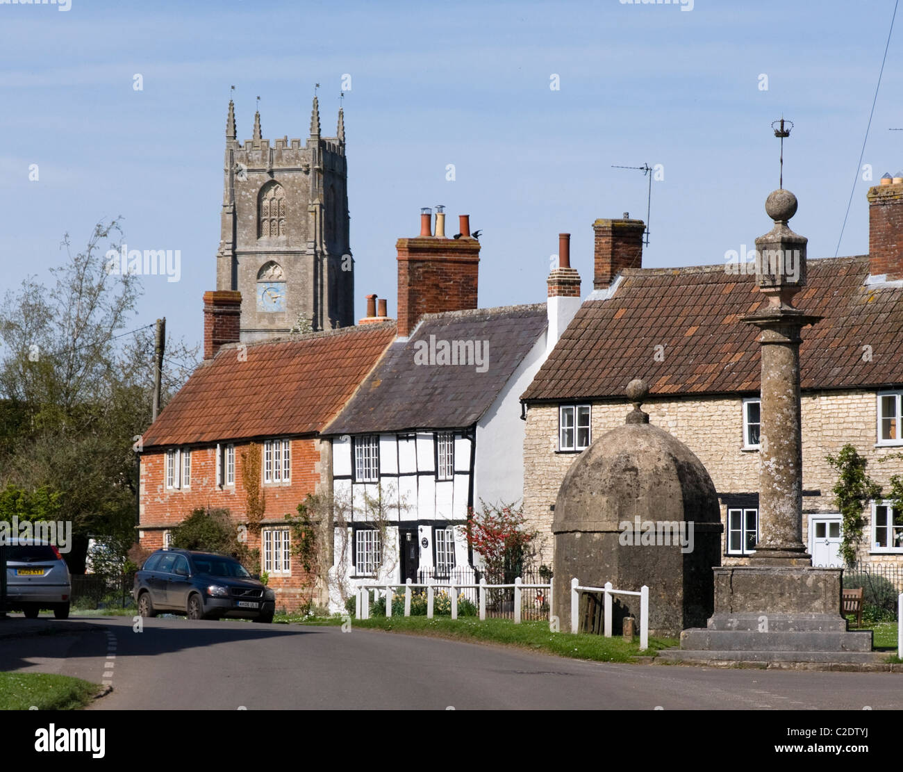 Steeple Ashton wiltshire England UK - Stock Image