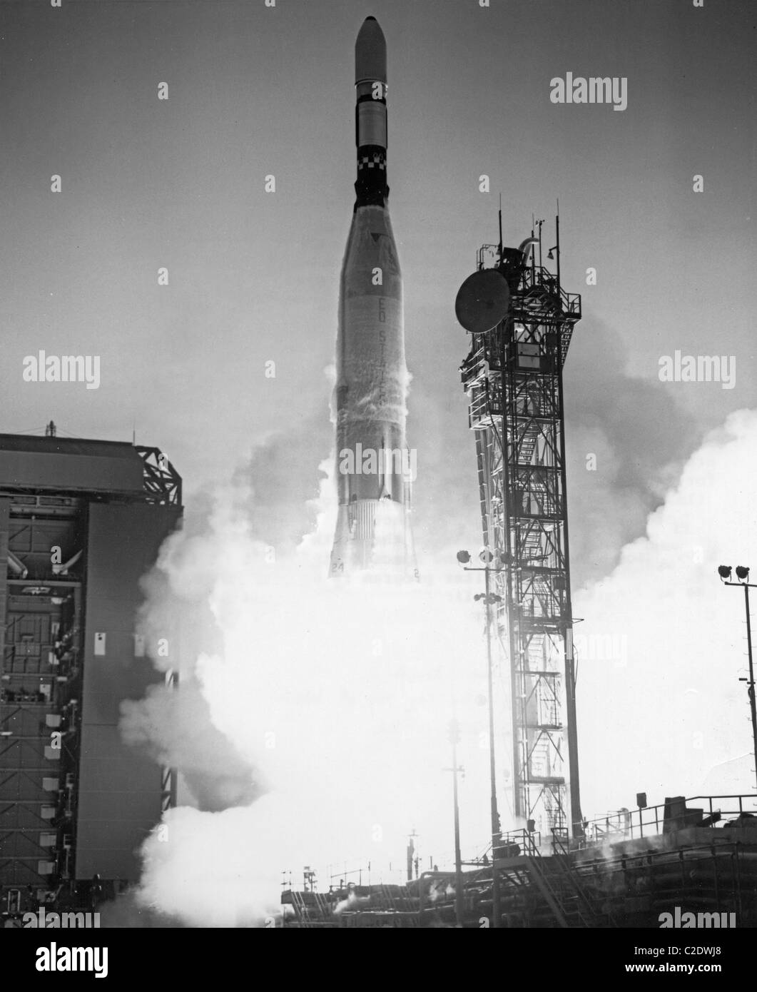 Lunar Orbiter 5 Launch - Stock Image