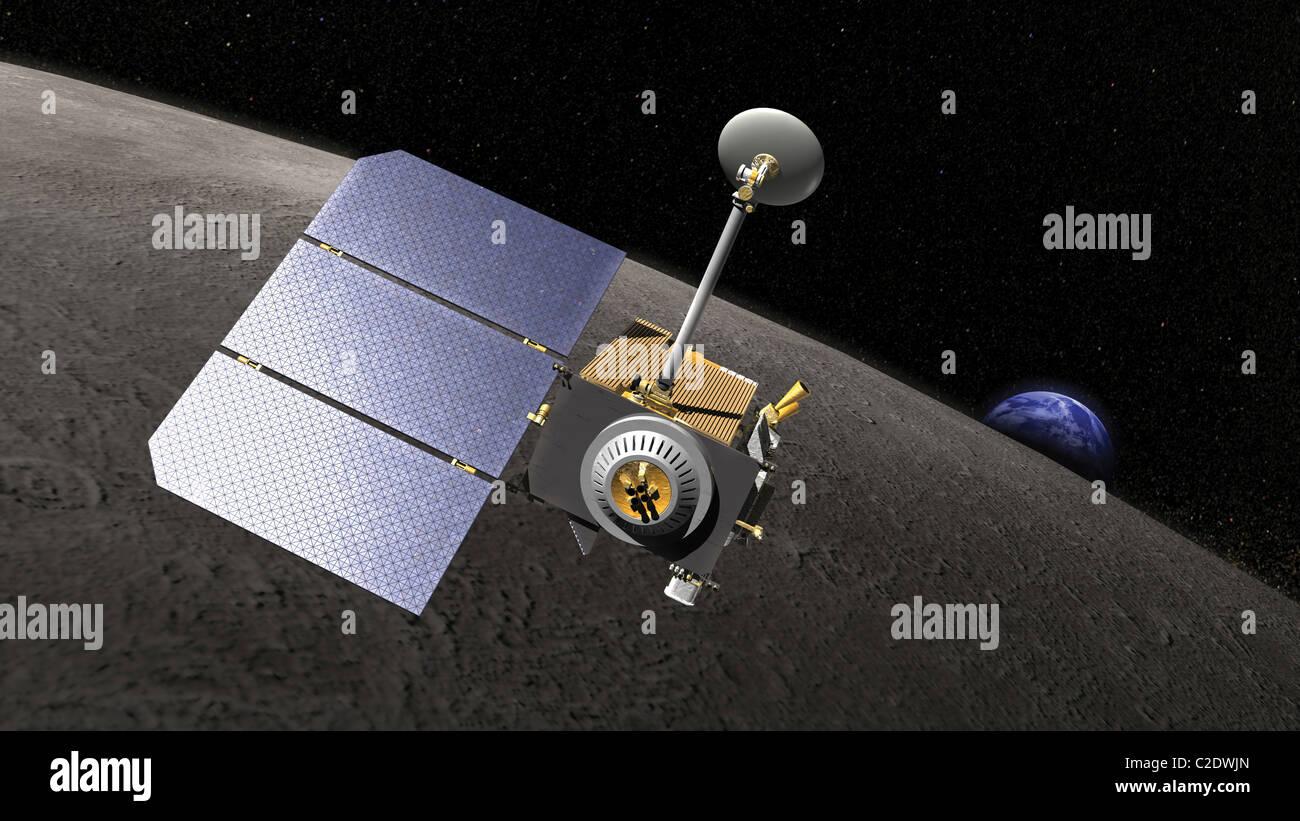 Lunar Reconnaissance Orbiter - Stock Image