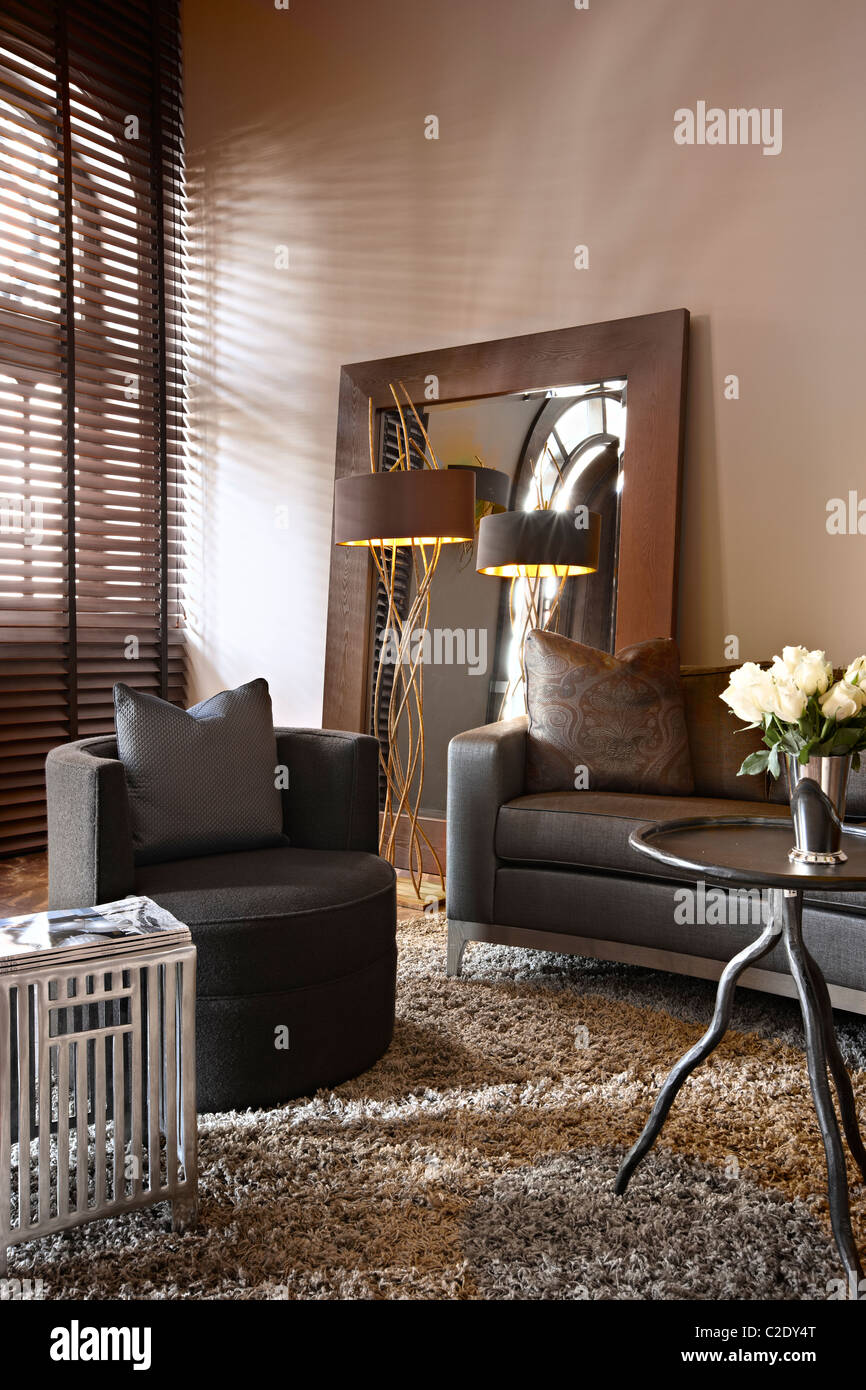 Michael Reeves interior design - Stock Image