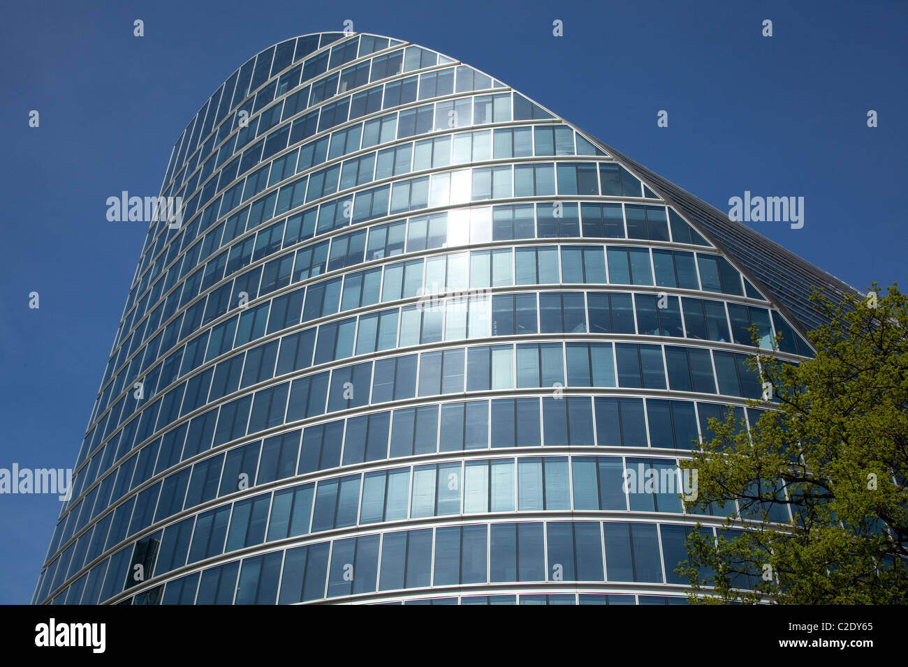 Moor House, Moorgate, City of London designed by Lord Foster - Stock Image