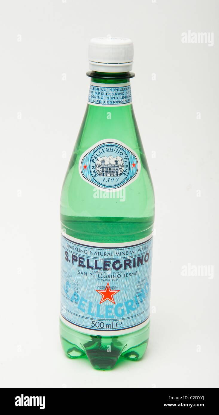 Pellegrino sparkling water - Stock Image